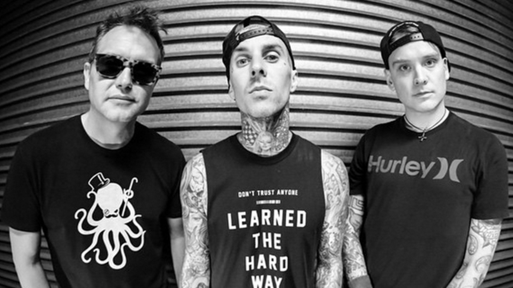 Blink 182 graba junto a The Chainsmokers