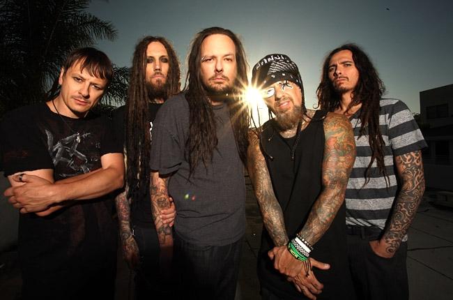 Korn se encuentra grabando su nuevo disco