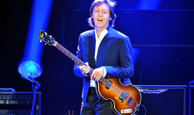 Paul McCartney y su primer Nro. 1 en EE.UU en 36 años.