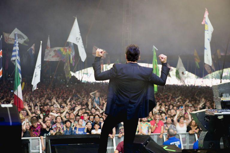 The Killers dio un show sorpresa en Glastonbury