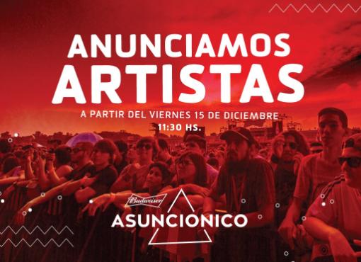 El Asunciónico irá revelando su line up desde el 15/12