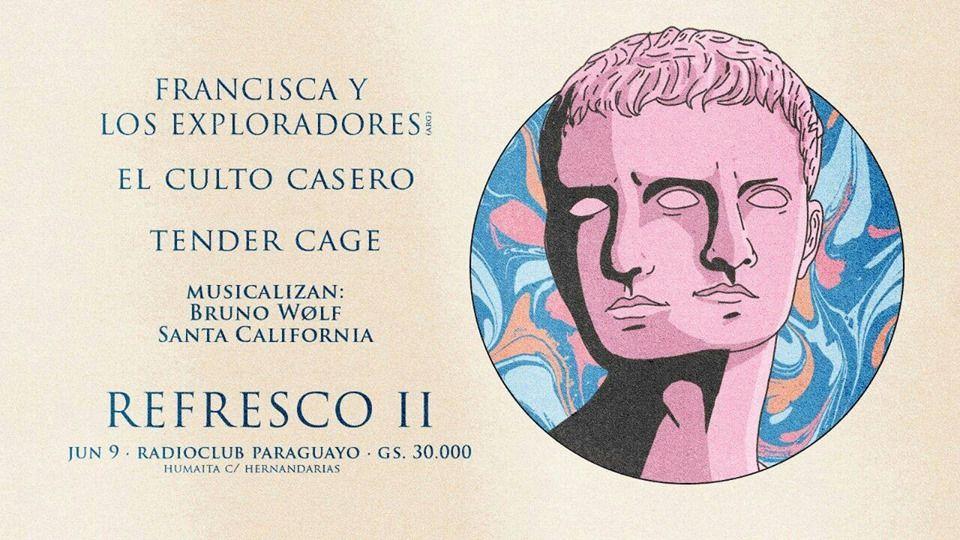 Tender Cage y El Culto Casero invitan a 'Refresco II'