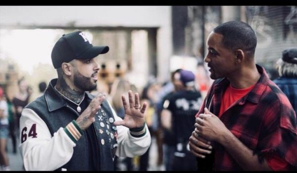 Will Smith y Nicky Jam en la clausura del Mundial de Rusia