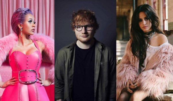 "Ed Sheeran, Cardi B y Camila Cabello lanzan ""South of the Border"""